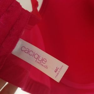 Cacique Intimates & Sleepwear - Cacique 46C pink wireless full coverage bra